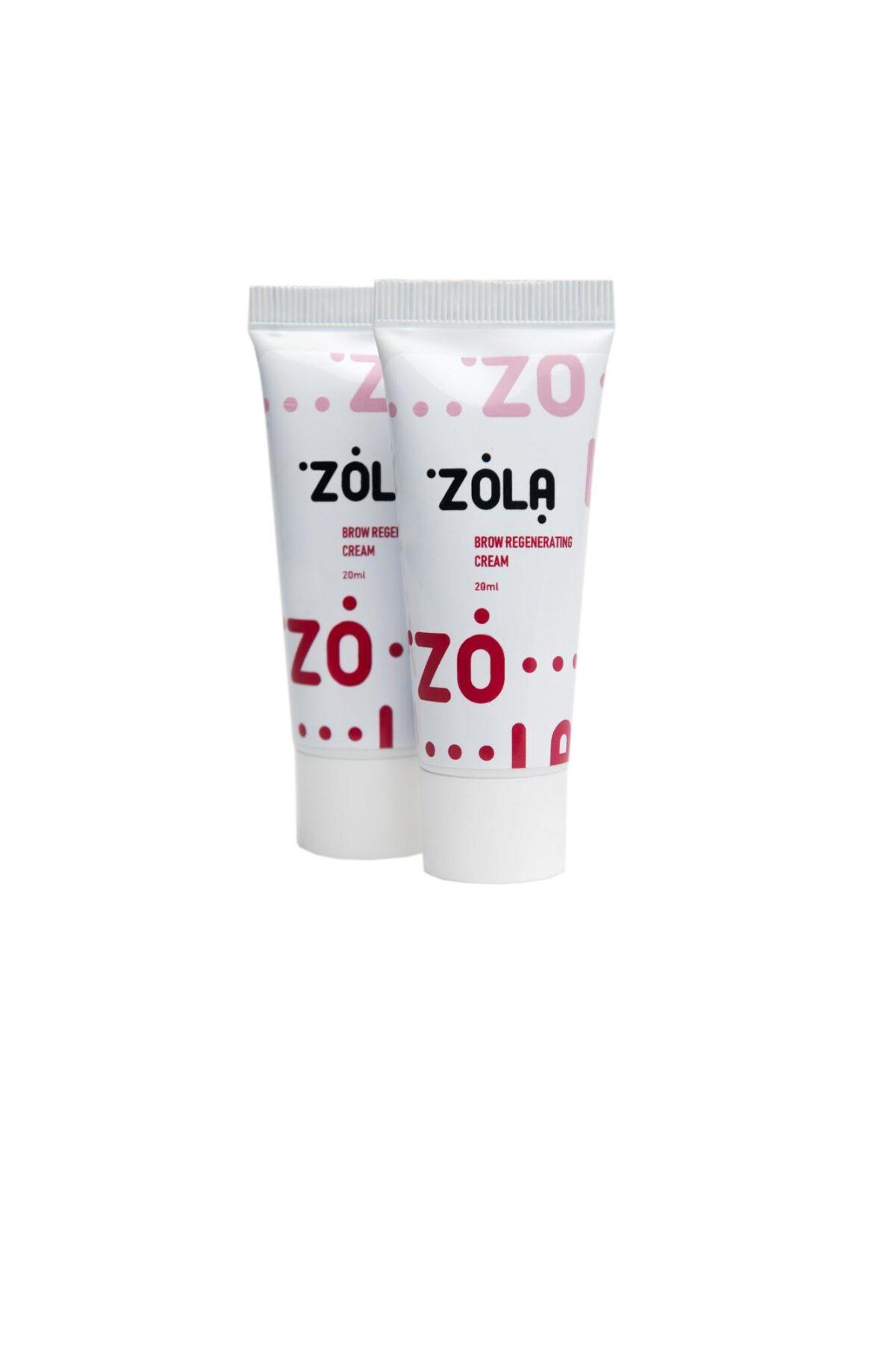 zola brow regeneration cream