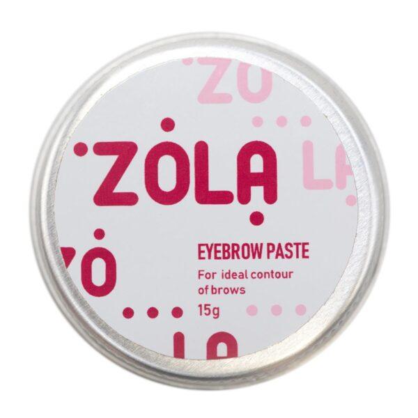 zola eyebrow paste